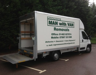 Rogersons Man with Van